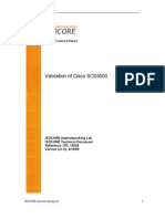 Cisco Sce 8000 Validation