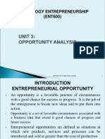 Unit 3 Opportunity Analysis