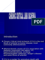 Critical Limb Ischemia