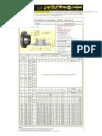 Val Aço » Produtos » Flanges » Com Pescoço (Welding Neck) - DIN » DIN 2632 - PN 10
