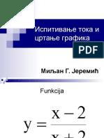 Grafik funkcije 4. razred Gimnazije.ppt