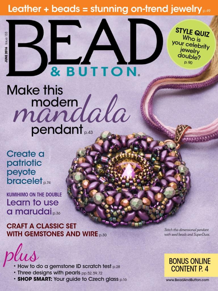 25. Bead&Button   June 25 AvxHome.in.pdf   Jewelry   Design