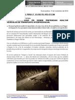 Nota de Prensa Nº 818 - 14oct16