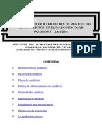 Programa HH Resolución de Conflictos