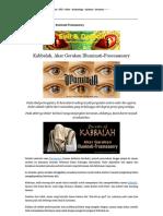 Kabbalah, Akar Gerakan Illuminati-Freemasonry