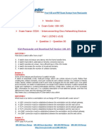 100-105 Exam Dumps With PDF and VCE Download (1-50)