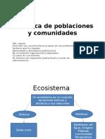 Dinámica de Poblaciones y Comunidades
