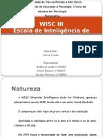 WISC III Escala de Inteligência de Wechsler para Crianças.pptx