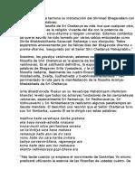 Prefacio de Las Cuatro Sampradayas y La Relevancia de La Brhama Gaudya