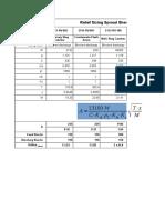 Relief Valve sizing Spreadsheet
