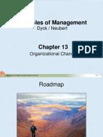 Chapter 13 Organizational Change