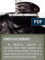 As Invasoes Barbaras