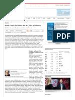 Bond Fund Duration_ an Art, Not a Science