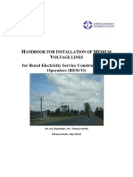 Handbook for Installation of Medium Voltage Lines