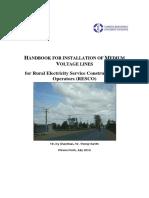 Handbook for Installation of Medium Voltage Lines