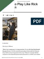 5 Ways to Play Like Rick Wakeman _ KeyboardMag