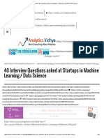 40 Interview Questions Asked at Startups in Machine Learning _ Data Science