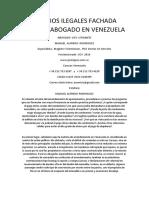 Cambios Ilegales Fachada Edificio Abogado en Venezuela