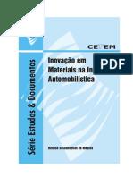 MEDINA, Heloísa. Inovação em materiais na indústria automobilística .pdf