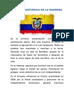 Síntesis Histórica de La Bandera
