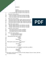 Email - Punctuations Quiz