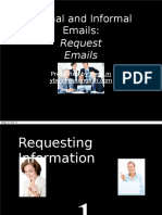 Formal and Informal Email