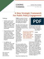 HPS Public Policy Strategic Framework