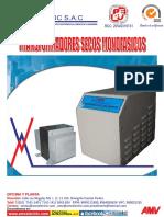 Catalogo - Transf. Monofasico Seco - Tms