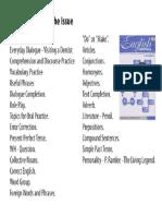 English Essentials Vol 1