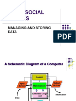 Topic 9 Managing and Storing Data