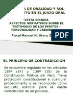 TECNICA DE ORALIDAD Y ROL DEL PERITO 6TA.pptx