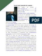 Biografia de José Joaquín de Olmedo