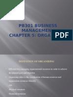 3 Organization
