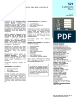 DSE521 Data Sheet