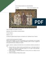 Análisis de La Obra Procedente de La Cultura Bizantina