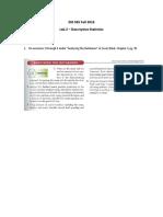 Lab 2 - Descriptive Stats
