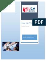 HALLAZGOS -UCV