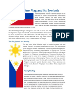 The Philippine Flag and Its Symbols