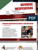 DEFENSAS INESPESIFICAS-MICROBIOLOGIA