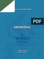 Modelo de Memorial Descritivo - CONCURSO