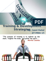 Training & Development Strategies