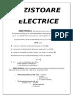 REZISTOARE ELECTRICE, marcare