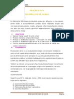 PRACTICA N°4  ELABORACIÓN DE MANJAR