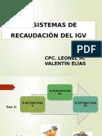 SEMANA 7° SISTEMAS DE RECAUDACION DEL IGV.pptx