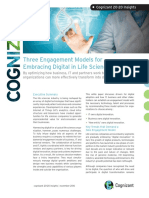 Three Engagement Models for Embracing Digital in Life Sciences