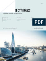 World's Best City Brands - Resonance 2017