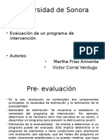 Evaluacion de Programas de Intervencion Frias y Corral