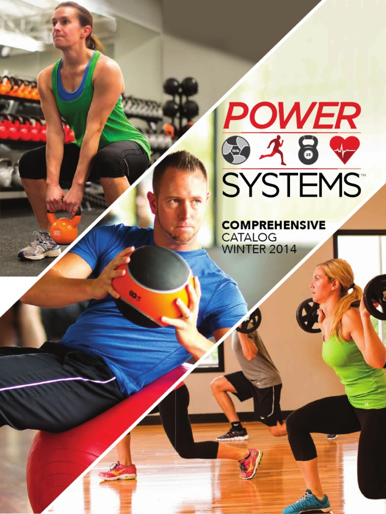 Power Systems Winter Catalog Stairs Sports Vipr 8kg