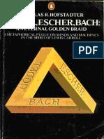 [Douglas R. Hofstadter] Godel, Escher, Bach