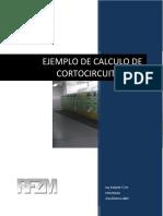 Corriente de CC ANSI - Ejemplo de Calculo